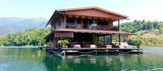 Paradise House Boat in Kanchanburi Thailand