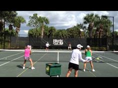 Tennis Tips from Paula- Doubles Partners Shifting  Tennis Tips for Club Players