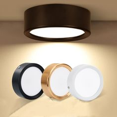 Ceiling Lights Ultra-thin Led Surface Mount Cob Ceiling Lamp 3w 5w 7w Black/white/gold Housing Ceiling Spot Lamp For Home Living Room Decor Be Friendly In Use Back To Search Resultslights & Lighting