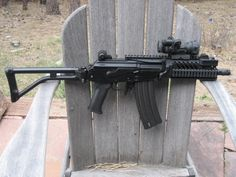 """gun-gallery: """"Micro Galil - 5.56x45mm """"Loading that magazine is a pain! Get your Magazine speedloader today! http://www.amazon.com/shops/raeind"""