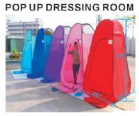 6.25Ft High Portable Instant Pop-Up Changing and Dressing Room, Lightweight and Collapsible - California Palms