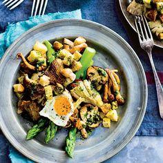 Recept - Lauwwarme paddenstoelensalade - Allerhande