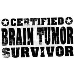 For the Survivors! #braintumorawareness