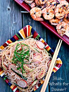 Hun... What's for Dinner?: Cold Asian Noodle Salad the Perfect BBQ Side #BlueDragonMom