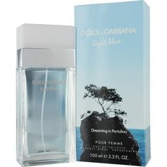 Dolce & Gabbana Light Blue Dreaming in Portofino Women Eau De Toilette Spray, 3.3 Ounce by Dolce & Gabbana, http://www.amazon.com/dp/B007X1X54C/ref=cm_sw_r_pi_dp_70Dvrb0QNK9AT