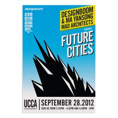 Future cities poster