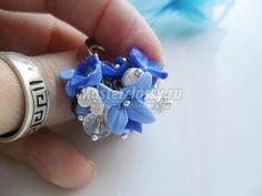 Объемное кольцо из полимерной глины своими руками