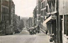 La rue de Ménilmontant dans les années 1950.