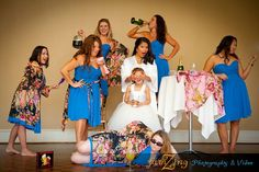 Epic Bridal Party Shot by FamZing Photography & Video