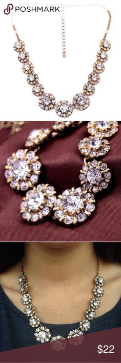 ❤️NEW IN❤️ Chic Crystal Boucle Statement Necklace Beautiful Crystal Boucle necklace . Brand new all jewelry is buy 2 get 1 free. Ships out 7/22. Jewelry Necklaces