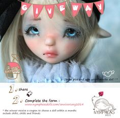 Nympheas doll giveaway