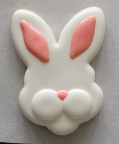 Bunny Face Cookies SweetSugarBelle 3