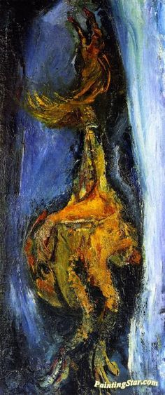 The Rooster Artwork by Chaim Soutine Hand-painted and Art Prints on canvas for…