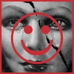 Barbara Kruger Tears, 2012 Digital print on vinyl 114 × 115 × 2 in 290 × 292 × cm Unique Barbara Kruger, Contemporary Photography, Art Photography, Contemporary Art, Digital Print, Photocollage, Jasper Johns, Art Fair, Land Art