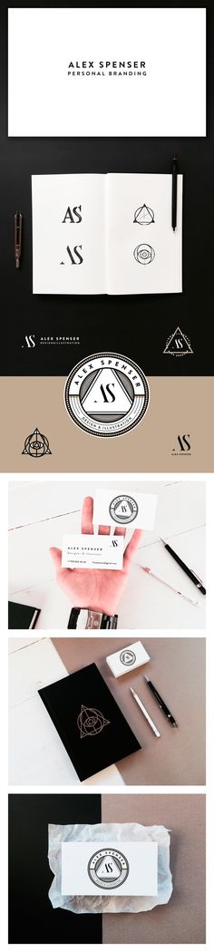 Personal Branding. Alex Spenser. on Behance