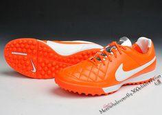 official photos 68107 2cc88 2015 Nike Tiempo Legacy V TurF football boots orange white