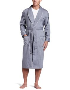 a33c538426 Nautica Men s Captains Herringbone Woven Robe