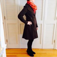 Spotted while shopping on Poshmark: Via Spiga Brown Raincoat! #poshmark #fashion #shopping #style #Via Spiga #Jackets & Blazers