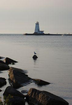 *Ludington Michigan Lighthouse