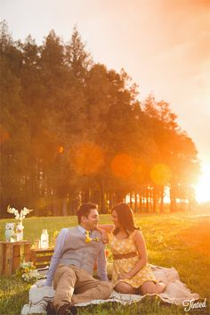 Spring Pre-wedding Photoshoot - Tinted Photography