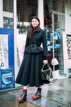 Paris Fashion Week Fall 2017 Street Style Day 6 Cont. - The Impression