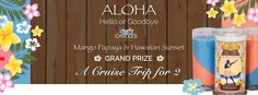 ALOHA! Experience Hawaii with this July 2015 Prize Candle with a Cruise for 2 as a grand prize. Available for a limited time at https://www.jewelryincandles.com/store/atozen