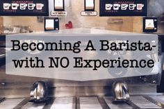 My journey into the coffee industry: how I became a barista without any coffee experience and got a job at a coffee shop. Five Top Key traits for a barista. Starbucks Jobs, Working At Starbucks, Starbucks Barista Training, Coffee Barista, Coffee Latte, Chemex Coffee, Coffee Brewer, Coffee Shops, Coffee Lovers