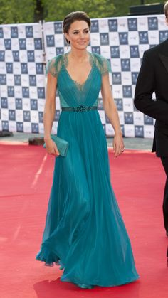 One of our all-time favorites, this Jenny Packham gown she wore in 2012 is just perfection. via @stylelist