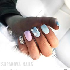 Pin by on nails // in 2019 negler Nail Polish Designs, Acrylic Nail Designs, Nail Art Designs, Girls Nail Designs, Nails Design, Gel Polish, Nail Manicure, My Nails, Fire Nails
