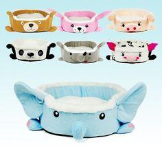 New Fashion Pet Dog Cartoon Animals Bed Pet Cat Mat House Bed  #New