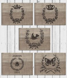 Printable Paper Placemats Burlap style  by MKLiveLaughLoveShop