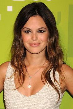 Rachel Bilson's glossy dip-dye - love her as my hairspiration!