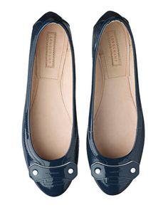 Patent leather flats, Longchamp , $350, call 866-566-4242
