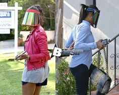 celebrities wearing visors - Google Search