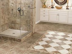 379 Bathroom Ceramic Tile, bathroom tile ideas on a budget, bathroom tile ideas houzz ~ Home Design Best Bathroom Flooring, Bathroom Floor Tiles, Bathroom Cabinets, Bathroom Vanities, Kitchen Flooring, Master Bathroom, Bathroom Tubs, Garage Flooring, Bathroom Marble