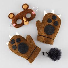 Wear the Wild Things - Dress-Up Set (Bear)