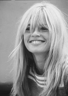 Brigitte during the filming of Two Weeks in September, 1967.