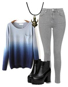 """Untitled #318"" by lean-mean-dean on Polyvore featuring Topshop"