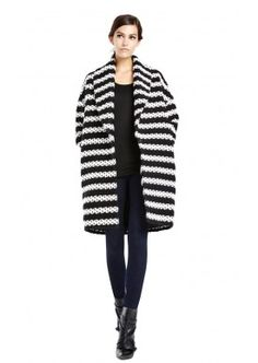 RALTER OVERSIZED COAT by Alice + Olivia