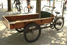 rental cargo bike by ibikempls, via Flickr
