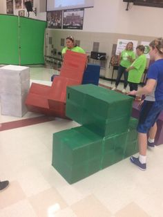 Giant Tetris: STEMfest TLT