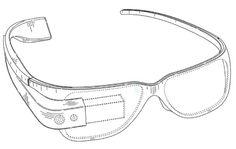Ornamental design for Google Glasses gets a patent.