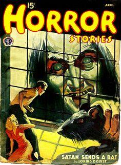 Horror Stories vintage pulp