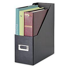 snap n store jumbo magazine file black by office depot cep ice magazine rack