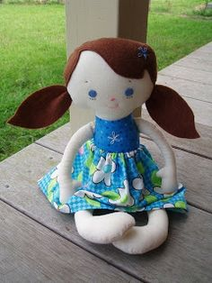 Made by Jody's Crafty Creations, pattern by 'Bit of Whimsy Dolls'