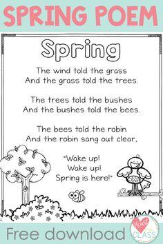 Spring Poem download