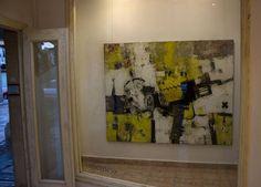 "#Exposición ""Thinking Art"" Bernardo Guerra / Galeria Octógono #Avilés 9 al 31 de octubre (Foto2) Oil 162×130 cm."