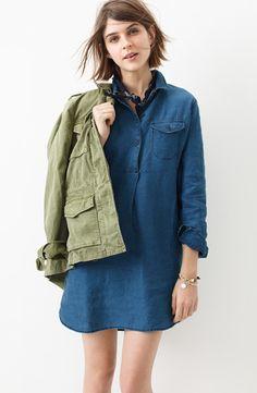 Shirtdress | Madewell.
