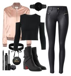 """""""Star Wars"""" by gz-d ❤ liked on Polyvore featuring Yves Saint Laurent, Christian Louboutin, CLUSE, Rodial and Boohoo"""