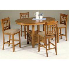 Liberty Furniture Santa Rosa Mission Oak 5 pc. Pub Set